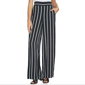 1.State • Stripe Wide Leg Pants
